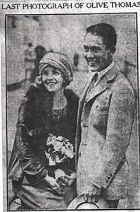 Olive Thomas and Jack Pickford - the Last picture ...