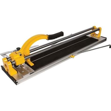 Handheld Tile Cutter Home Depot by Qep 24 In Rip Porcelain And Ceramic Tile Cutter 10630q