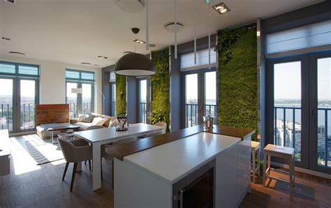 Vertical Gardening Creates An Oasis Inside Contemporary