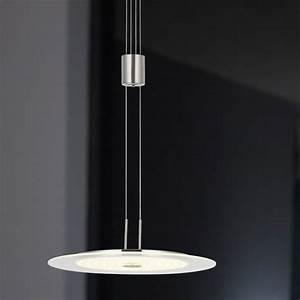 Pendelleuchte Led Dimmbar Höhenverstellbar : led pendelleuchte glas 35 cm led 21 6w wohnlicht ~ Bigdaddyawards.com Haus und Dekorationen