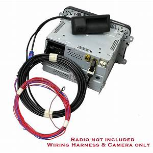 Oem Rgb Rear View Camera And Wire Harness Set For Vw