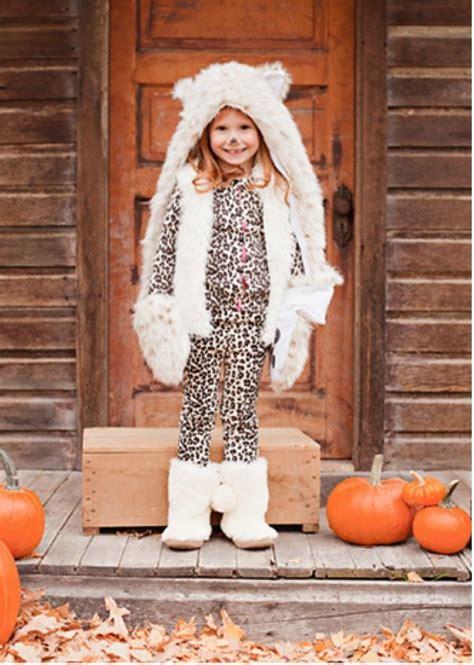 Snow Leopard Girl Costume