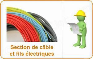 Section Fil Electrique : abaque section cable alimentation maison ventana blog ~ Melissatoandfro.com Idées de Décoration