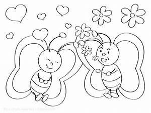 Dessin Saint Valentin : saint valentin coloriage dessin saint valentin a colorier ~ Melissatoandfro.com Idées de Décoration