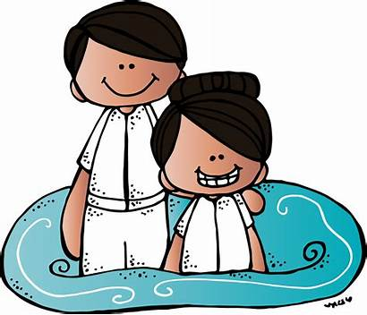 Lds Baptism Melonheadz Clipart Clip Sud Stuff