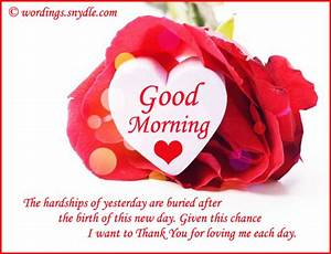 Good Morning Text Messages for Girlfriend – Wordings and ...