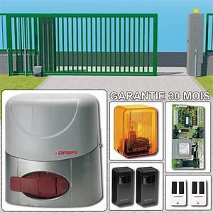 Fondation Pour Portail Coulissant : motorisations pour portails tous les fournisseurs ~ Dailycaller-alerts.com Idées de Décoration