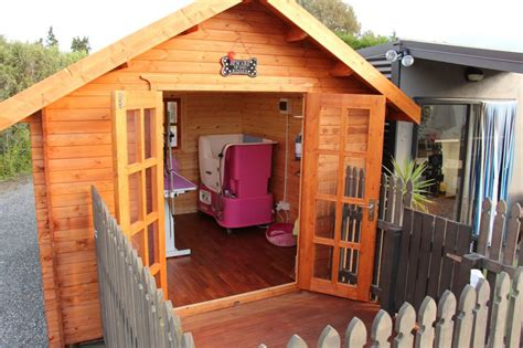 Wooden Garden Sheds Nz By Sheshed, Pet Grooming Home Business
