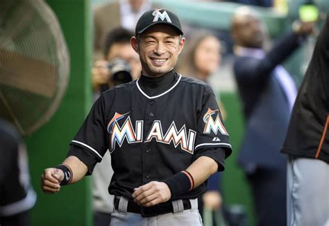 Ichiro Suzuki Baseball Reference by Ichiro Stays Ready As He Learns National League The