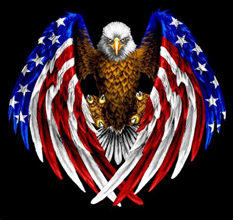 Distressed american flag with an eagle svg. American Eagle Logo Wallpaper (68+ images)