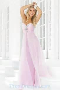 robe pour mariage longue buy tailor made beaded sweetheart chiffon pink prom dresses us