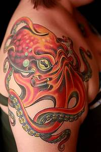 Classic American style octopus | Tattoo ideas | Pinterest ...