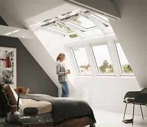 Günstige Velux Dachfenster : velux dachfenster kombination panorama f r mehr licht und ~ Lizthompson.info Haus und Dekorationen