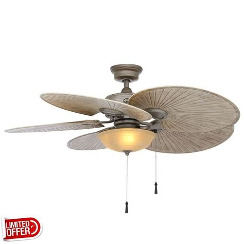 48 outdoor ceiling fan sale hton bay havana 48 inch outdoor cambridge silver