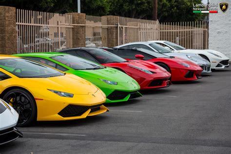 Lamborghini Newport Beach's September 2016 Supercar Show