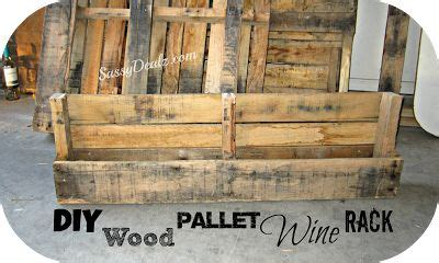 how to make a wine rack out of a pallet diy how to make a wine or magazine rack out of a wood