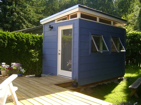 Backyard Bedroom by Backyard Bedroom Kit 8 X 12 Modern Shed Kit