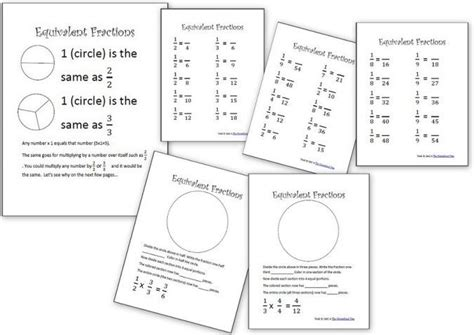 1000 images about homeschooling on homeschool math worksheets fractions 1000 images about math printables on worksheets