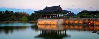 Korea South Palace Anapji Travel Geoex Misty