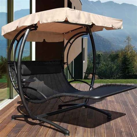 furniture marvellous garden swing design ideas  cream