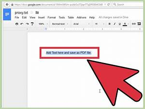 4 Ways To Convert Text To Pdf