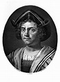 File:Portrait of Christopher Columbus. Wellcome M0007952 ...