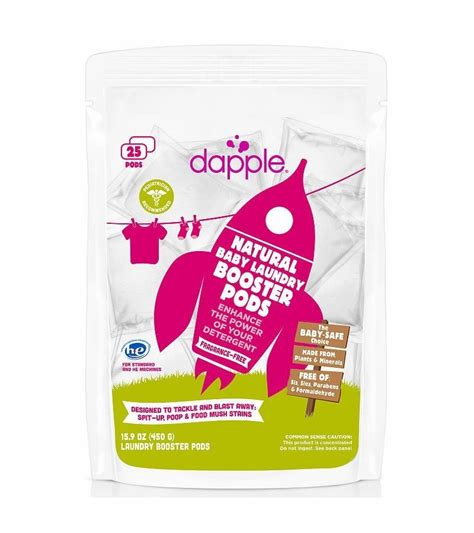 Dapple Laundry Booster Pods Baby by Dapple Laundry Booster Pods Fragrance Free 25ct