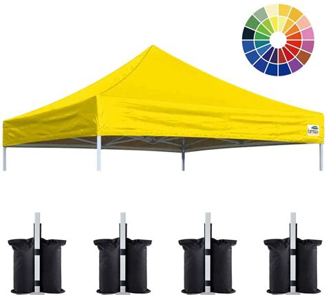eurmax   pop  canopy replacement canopy tent top cover instant ez canopy top cover