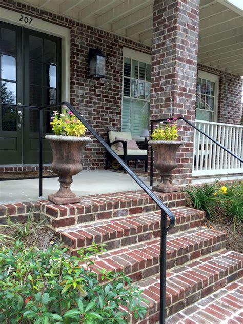 Porch Stair Handrail by Porch Rails Designs Kits And More