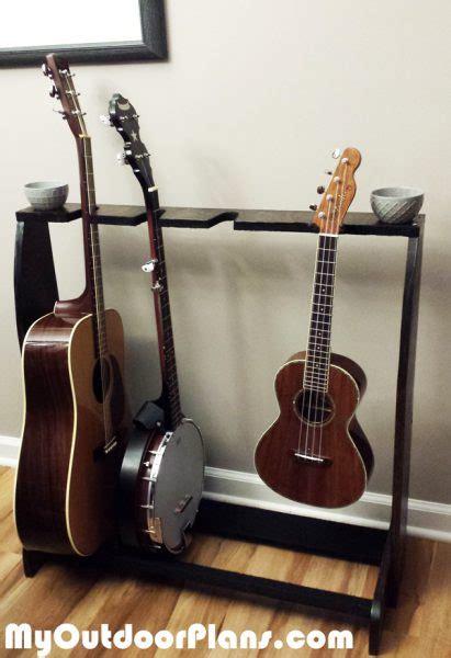 building  diy multi guitar stand myoutdoorplans