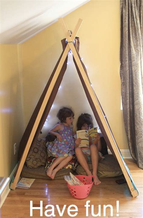 Diy Reading Nook And Play Tent For  Ee  Kids Ee   Shelterness