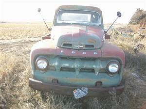 1952 Ford F6 Truck With Pto And Bed