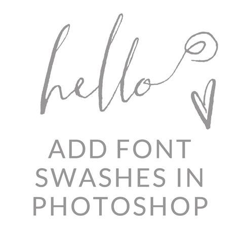 add swashes  fonts  photoshop fonts