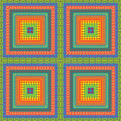 tapis avec des motifs ethniques illustration stock image
