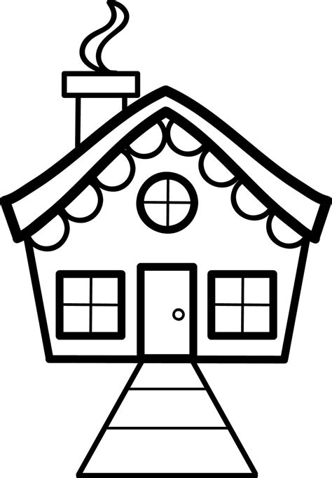 Simple House Drawing