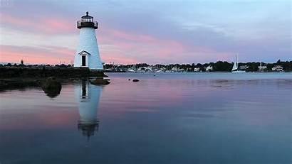 Lighthouse Island Massachusetts Animated Gifs Cinemagraph Happy