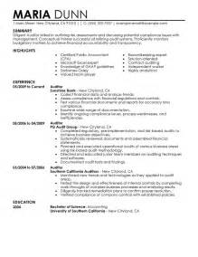 auditor resume exlesauditor resume exles resume for auditing position bestsellerbookdb