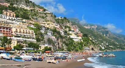 Amalfi Positano Under Italy Coast Places Influence