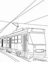 Colorear Coloriage Tramway Tranvia Tram Tgv Imprimer Metro Transports Dibujos Coloriages Train Dibujo Luxe Results Coloring Hellokids Linea Imprimir sketch template
