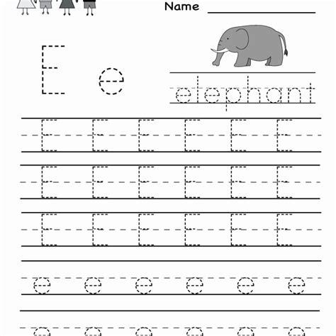 handwriting worksheets kindergarten free printable