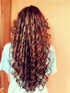 Spiral Curls Long Hair