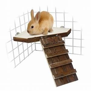 Maison Pour Lapin : maison bois pour cage lapin nain animaloo ~ Premium-room.com Idées de Décoration