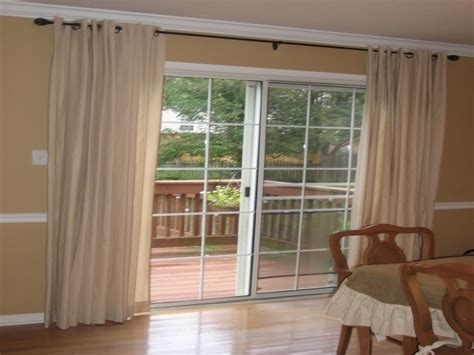 new curtains for sliding glass door robinson house