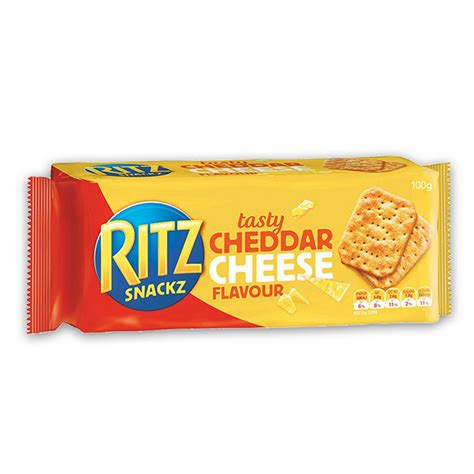 canapes recipe ritz snackz cracker tasty cheddar cheese 100g the