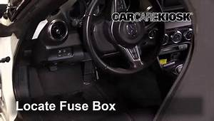 Interior Fuse Box Location  2016