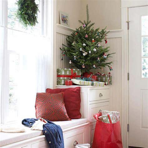 decorate small living room  christmascorner