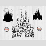 Disney Castle Silhouette With Tinkerbell | 1000 x 729 jpeg 99kB