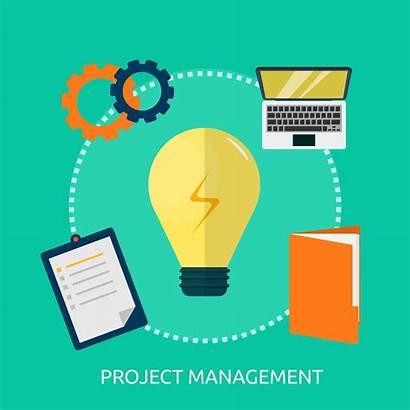 Project Management Vector Illustration Conceptual Vecteezy Clipart