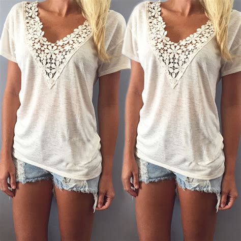 summer tops and blouses fashion summer vest top sleeve blouse casual