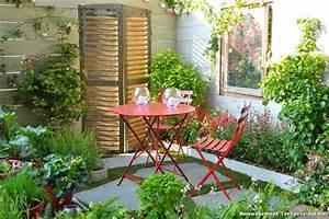amenagement balcon en longueur digpres With amenagement petite terrasse exterieure 10 amenagement jardin en longueur